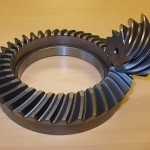 Hypoid Spiral Gear Set for Rear Axle