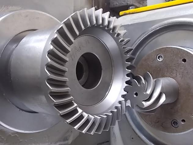 Gear on Machine